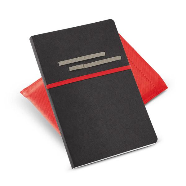 Caderno em Couro Sem Pauta   14 x 21 cm