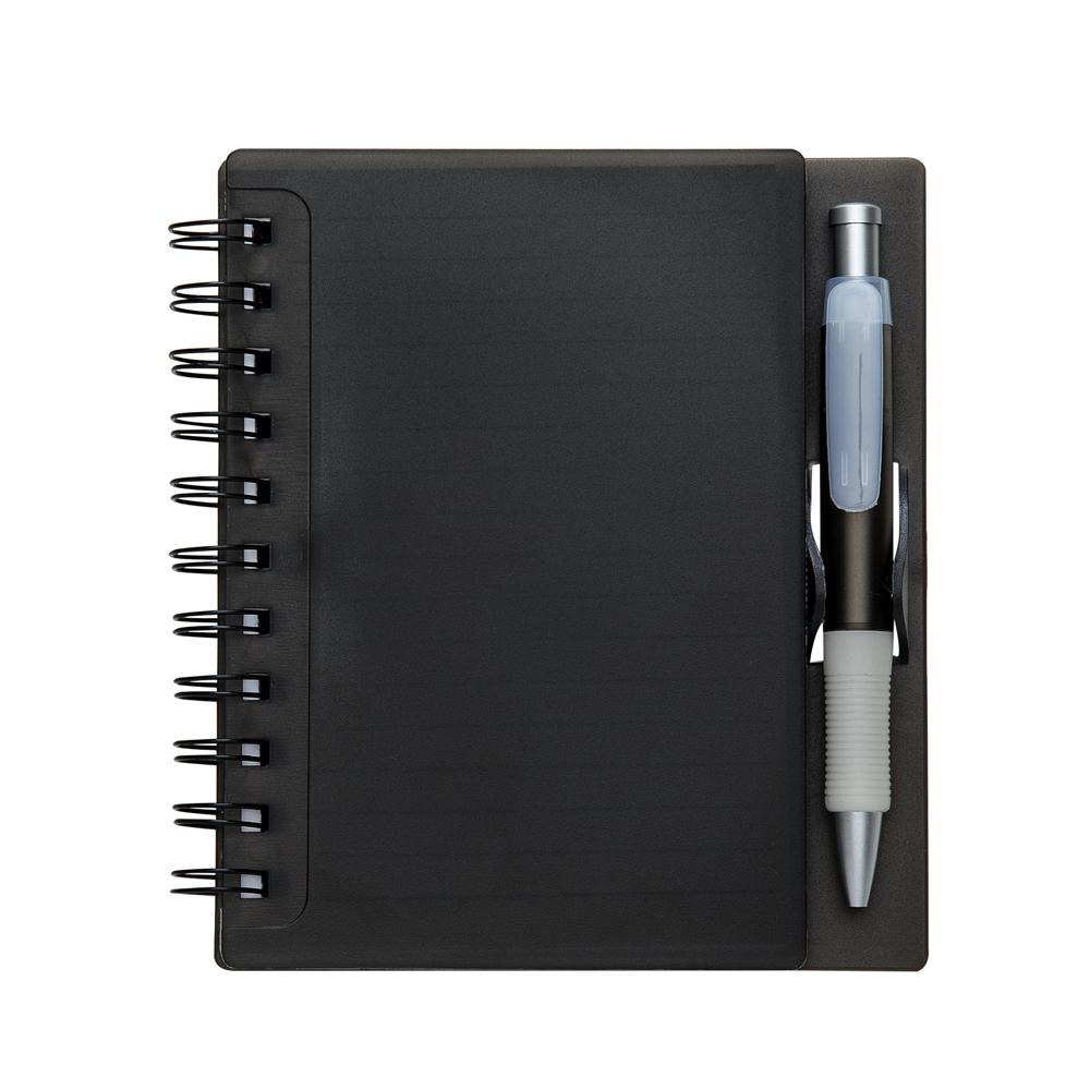 Caderneta de Anotações com Caneta
