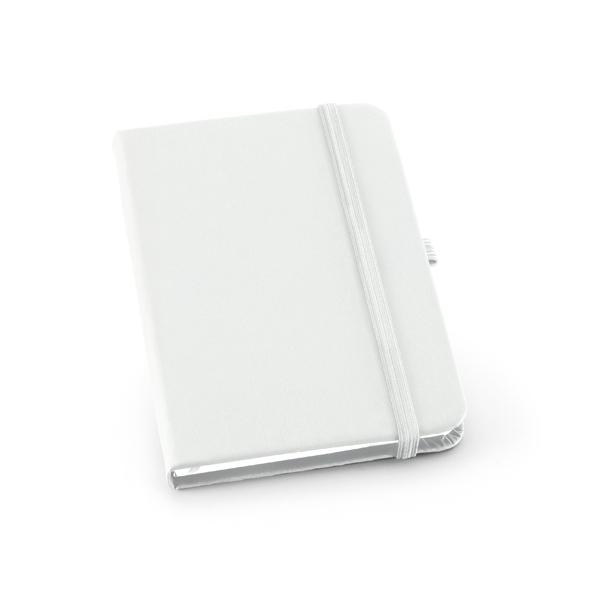 Caderneta em Couro Com Pauta | 9 x 14 cm