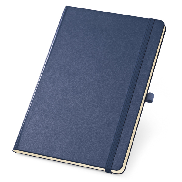 Caderneta em Couro Sem Pauta   10 x 14 cm