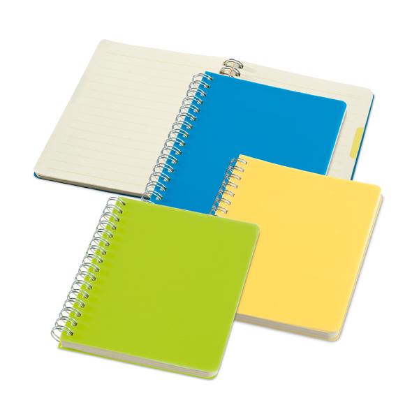 Caderno Capa Plástica