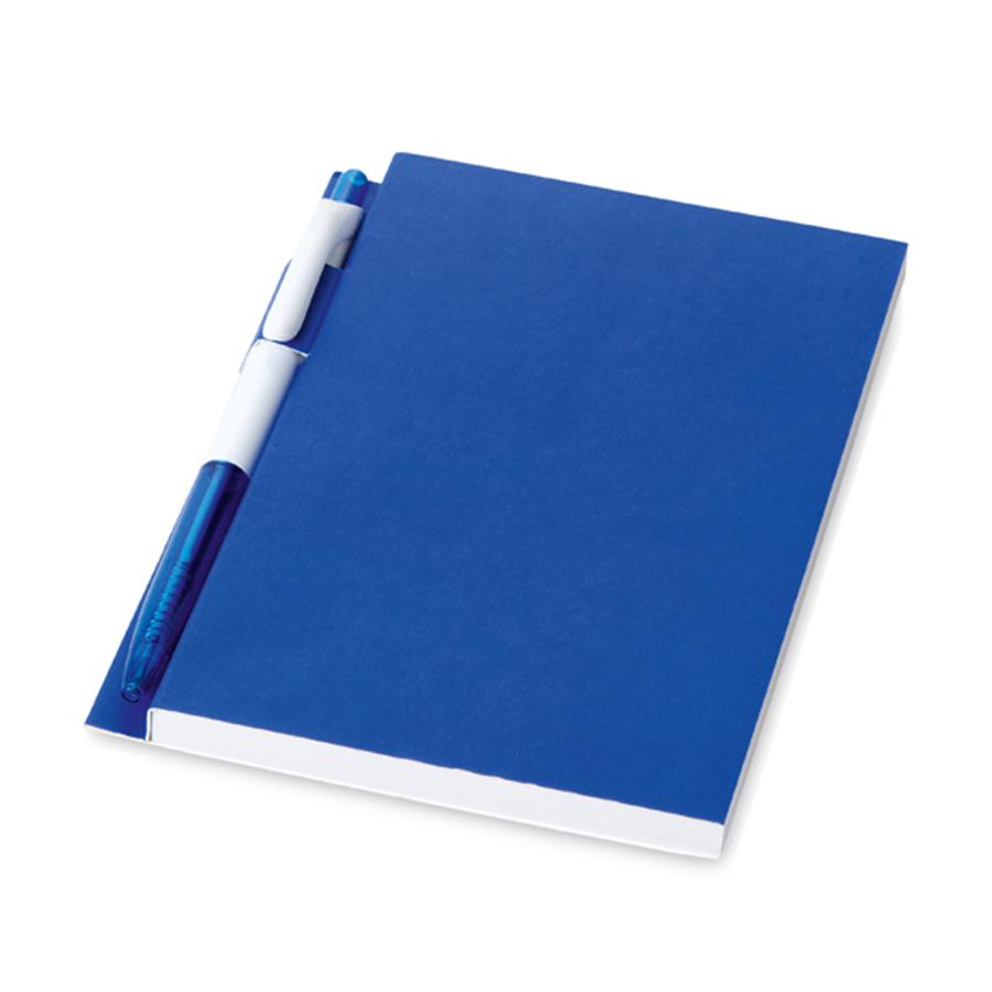 Conjunto: Caderno e Caneta