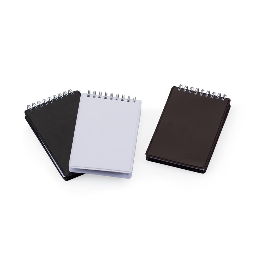 Caderneta de Anotações com Suporte para Caneta