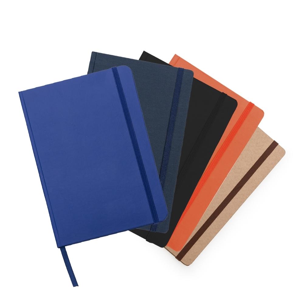 Caderneta em Couro Sintético   21 x 14 cm
