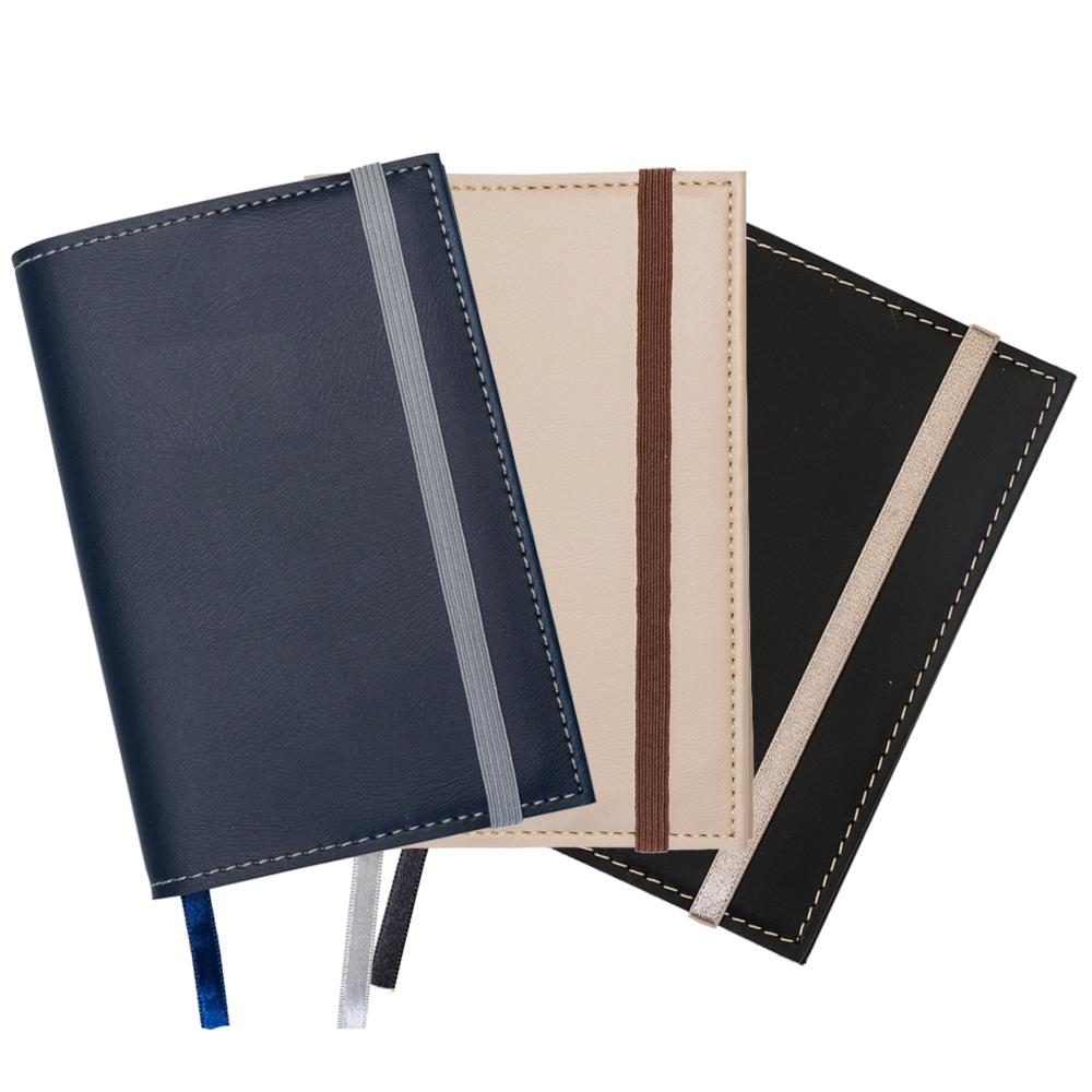 Caderneta com Couro Sintético