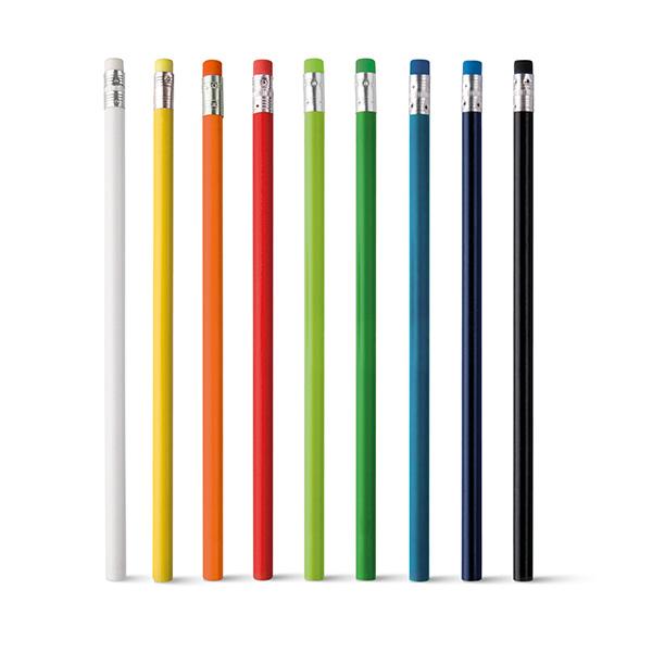 Lápis Preto Colorido com Borracha