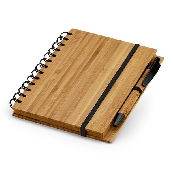 Caderno de Bambu   13,5 x 18 cm