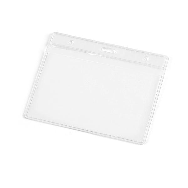 Porta Crachá em PVC   11 x 9 cm