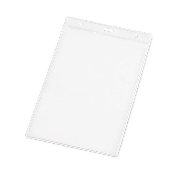 Porta Crachá em PVC   11 x 17 cm