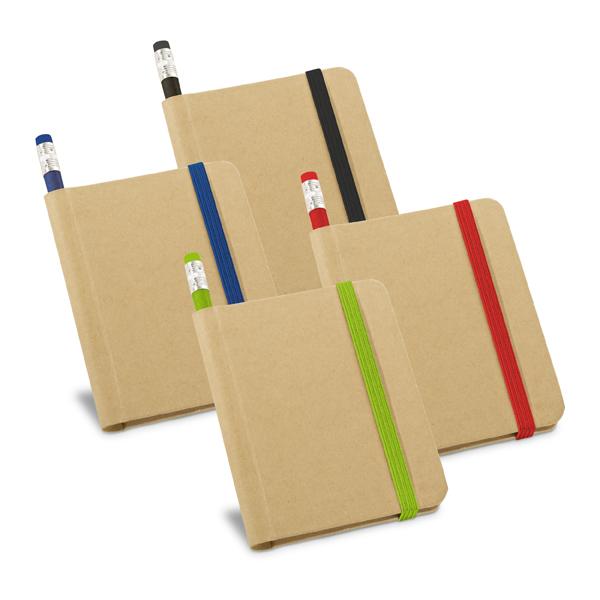 Caderno Ecológico com Lápis