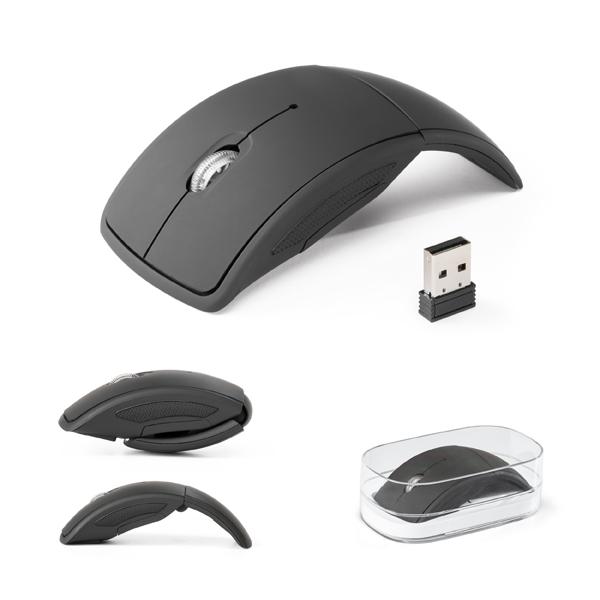 Mouse Wireless Dobrável 2.4G