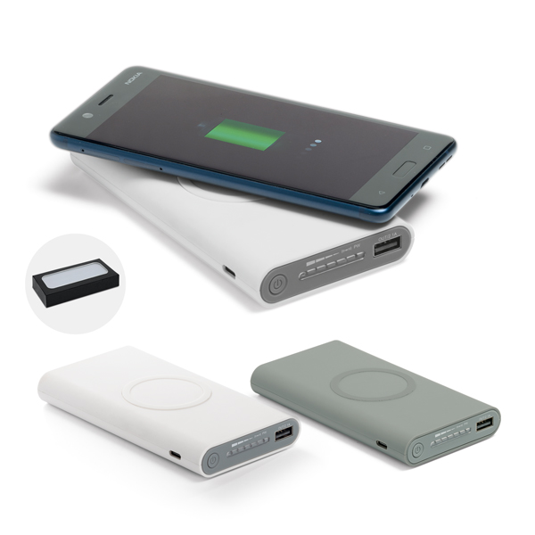 Bateria Portátil Wireless 11.000 mAh