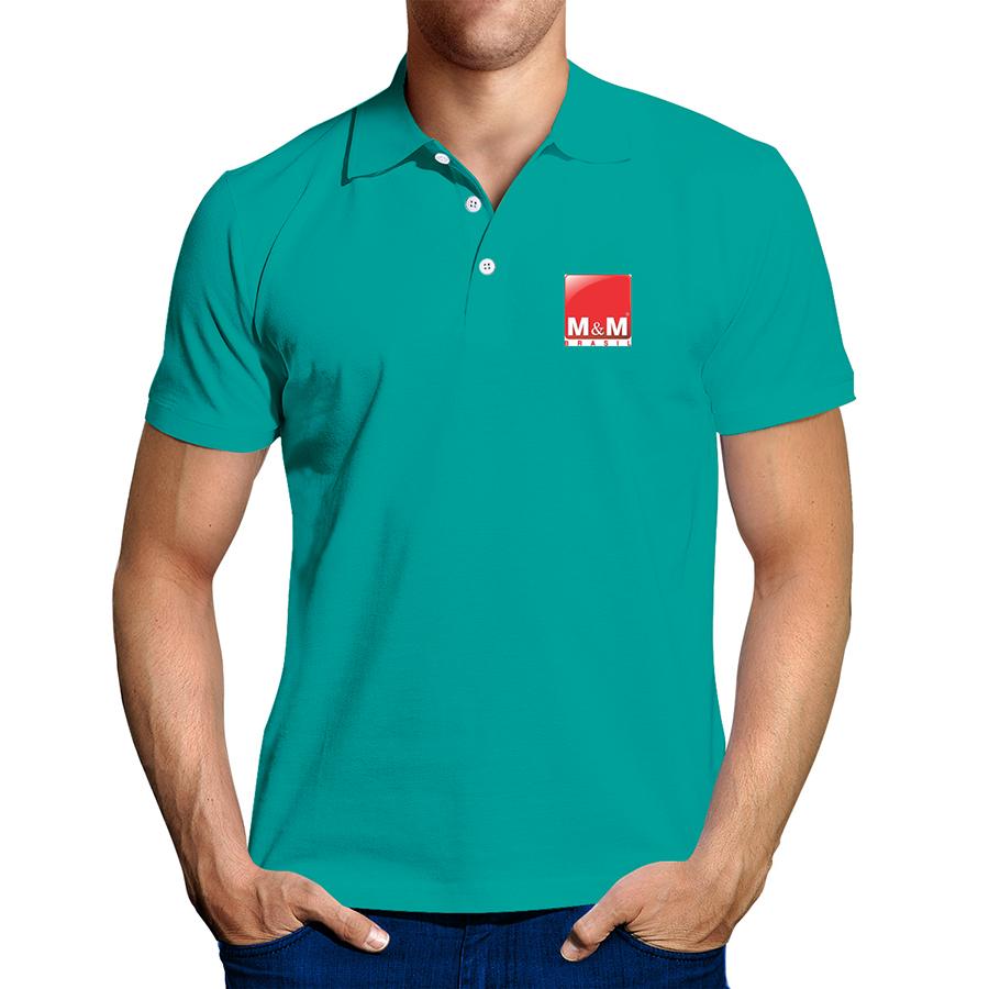 Camisa Pólo Piquet Colorido