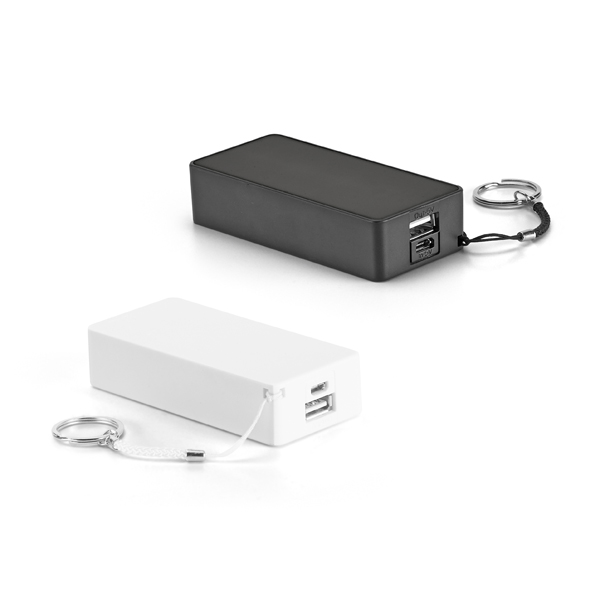 Power Bank Plástico 4.400 mAh