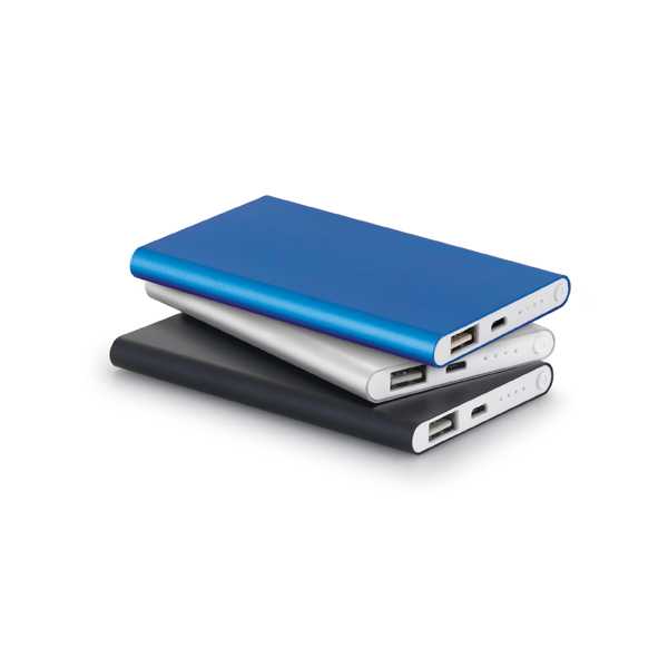 Power Bank Slim Metal 4.400 mAh