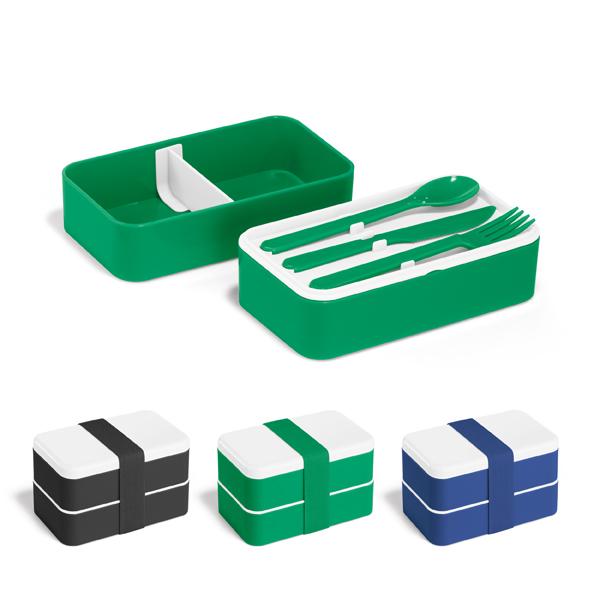 Marmita Plástica 2 Compartimentos