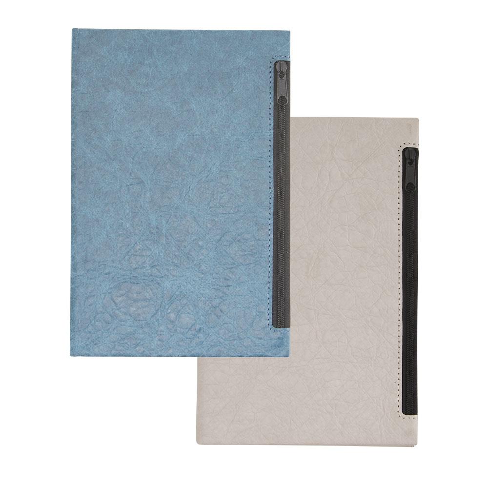 Caderneta em Couro Sintético   14 x 21 cm