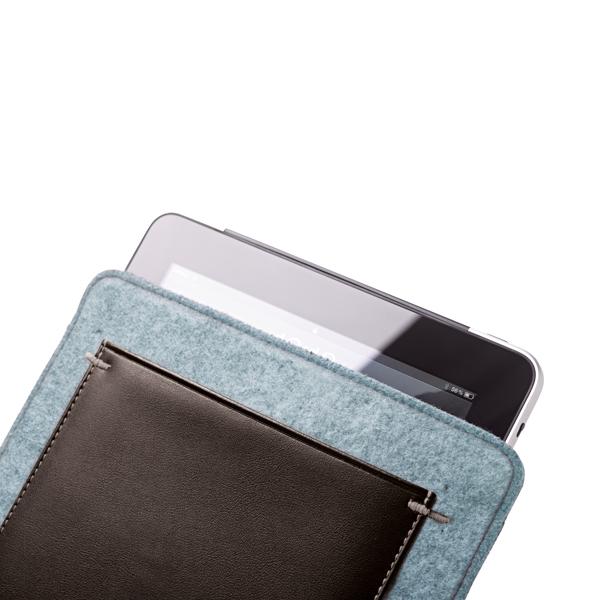 Bolsa para Tablet em Couro 10.1''.