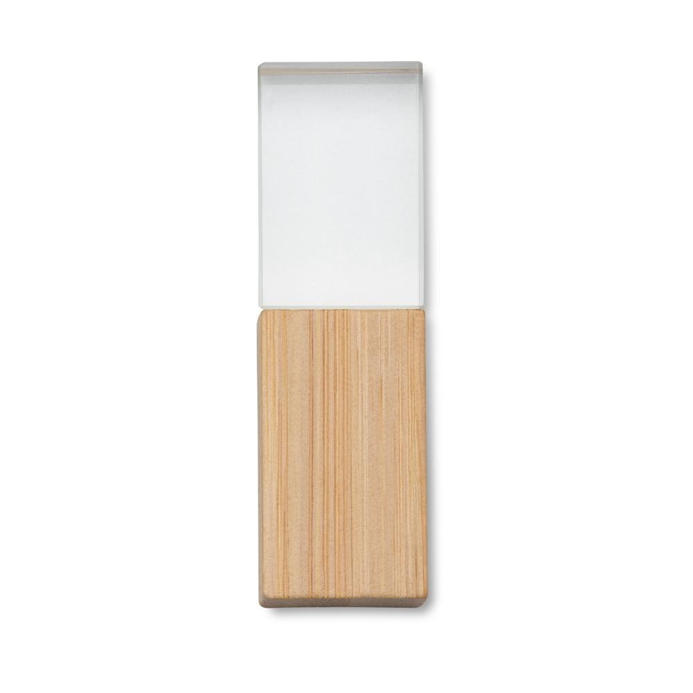 Pen Drive Cristal Bambu 8GB