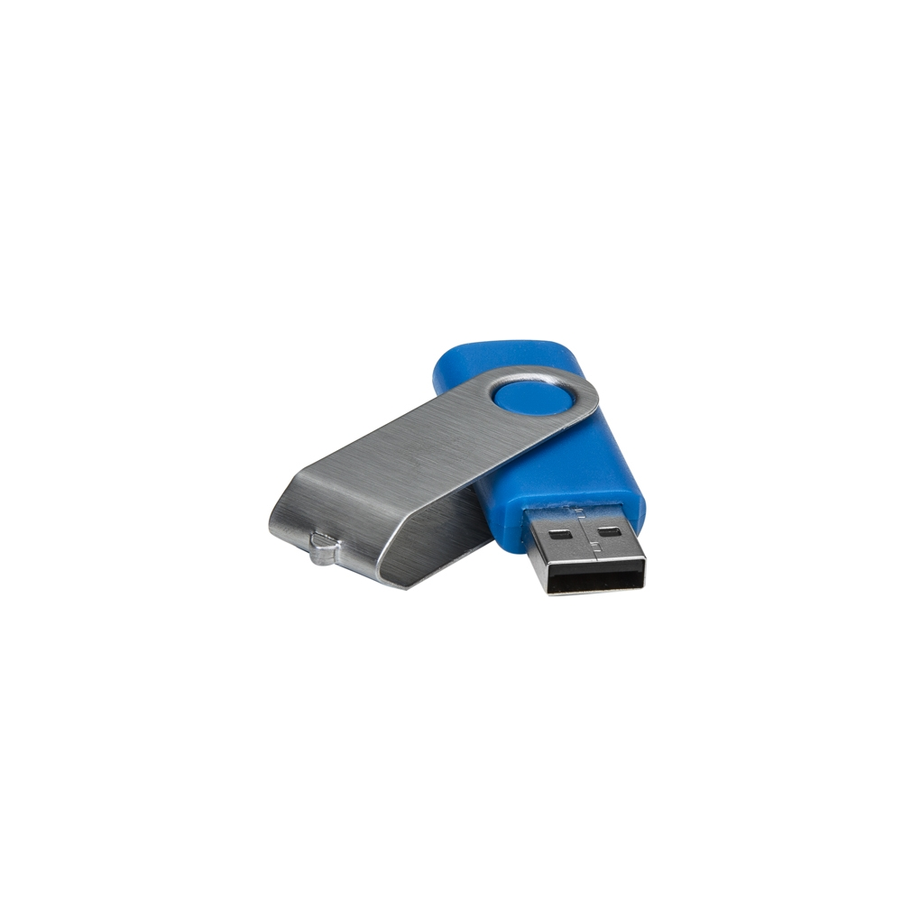 Pen Drive Giratório Metálico 8 GB